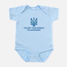 Funny Ukrainian Borsch Infant Bodysuit