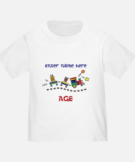Personalized Birthday Train T