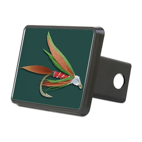 Barbed fishing fly sem hitch cover by sciencephotos for Fish hitch cover