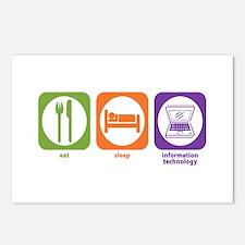 Eat Sleep Information Postcards (Package of 8)