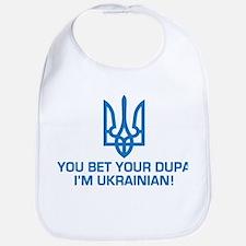 Funny Ukrainian Dupa Bib