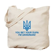 Funny Ukrainian Dupa Tote Bag