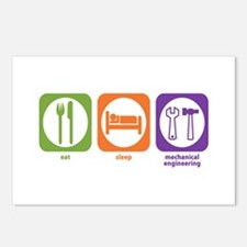 Eat Sleep Mechanical Postcards (Package of 8)
