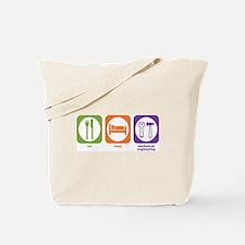 Eat Sleep Mechanical Tote Bag