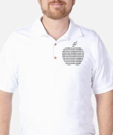 Apple Binary Large T-Shirt