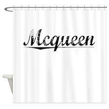 Mcqueen, Vintage Shower Curtain