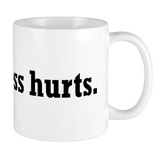 Truthiness Hurts Mug