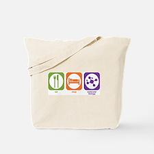 Eat Sleep Molecular Tote Bag