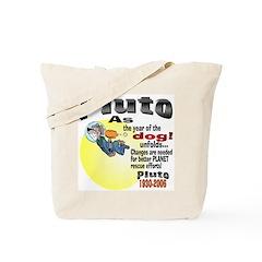 Pluto 1930-2006 Tote Bag