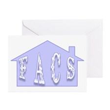 """""""FACS House"""" Greeting Cards (Pk of 10)"""