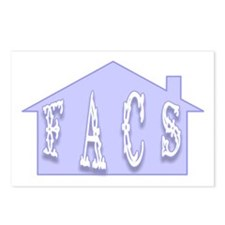 """""""FACS House"""" Postcards (Package of 8)"""