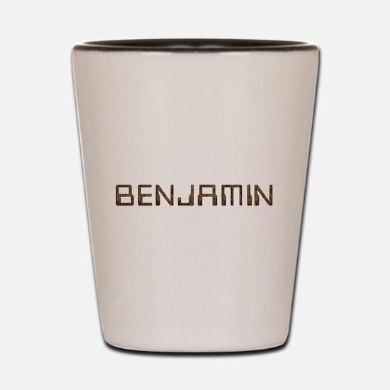 Benjamin Circuit Shot Glass