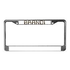 Brandi Circuit License Plate Frame