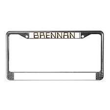 Brennan Circuit License Plate Frame