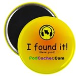 "Podcacher 2.25"" Magnet (10 pack)"