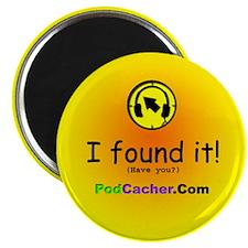 "Podcacher 2.25"" Magnet (10 pack)"