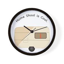 Home Skool is Cool Wall Clock