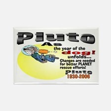 Pluto 1930-2006 Rectangle Magnet