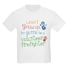 Future Volunteer Firefighter T-Shirt