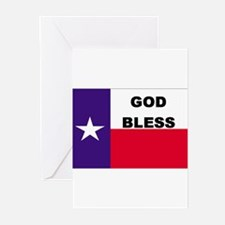 God Bless Texas Greeting Cards (Pk of 10)