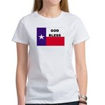 God Bless Texas Women's T-Shirt