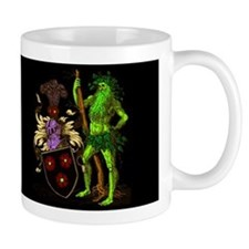 Shield Green Man Dark Mug