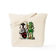 Shield Green Man Tote Bag