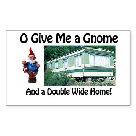 Give me a Gnome Rectangle Sticker
