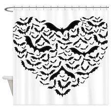 Bat Love Shower Curtain