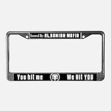 Albanian Mafia License Plate Frame
