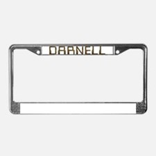 Darnell Circuit License Plate Frame