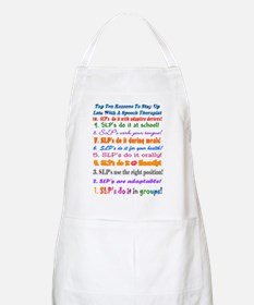 Up Late SLP Top Ten BBQ Apron
