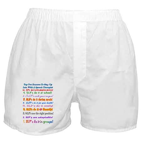 Up Late SLP Top Ten Boxer Shorts