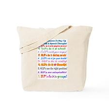Up Late SLP Top Ten Tote Bag