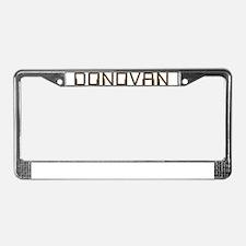 Donovan Circuit License Plate Frame
