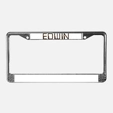 Edwin Circuit License Plate Frame