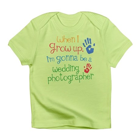Future Wedding Photographer Infant T-Shirt