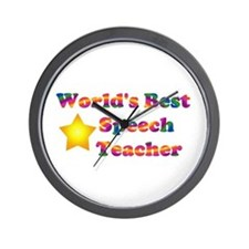 Speech Teacher Wall Clock