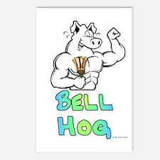 Bell Hog Postcards (Package of 8)