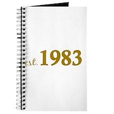 Est 1983 (Born in 1983) Journal