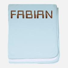 Fabian Circuit baby blanket