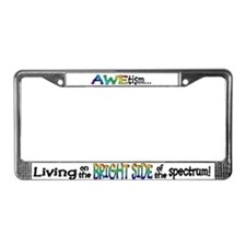 Cute Autism awareness License Plate Frame