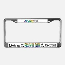Unique Awareness License Plate Frame