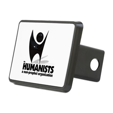 Humanists Non-prophet logo Rectangular Hitch Cover