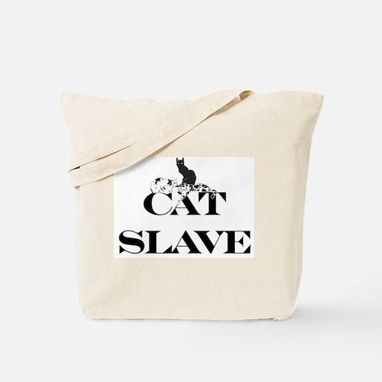 Cat Slave Tote Bag