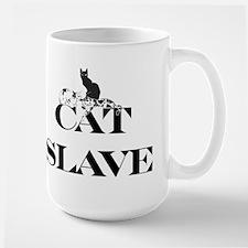Cat Slave Large Mug