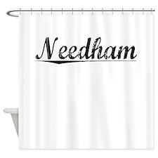 Needham, Vintage Shower Curtain