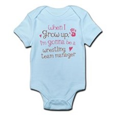Future Wrestling Team Manager Infant Bodysuit