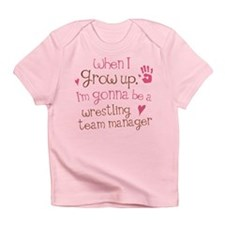 Future Wrestling Team Manager Infant T-Shirt