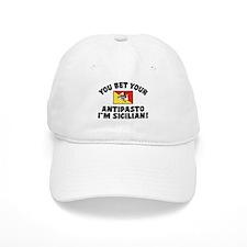 Funny sicilian Antipasto Baseball Cap